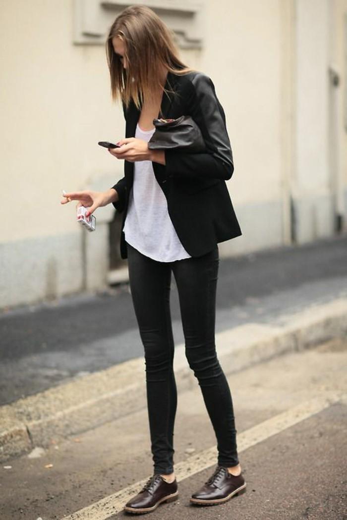 chaussures-marron-foncés-cuir-modèle-femme-élégante-chaussures-chic