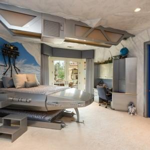 La chambre Star Wars - faire une décoration à l'aide de votre imagination!