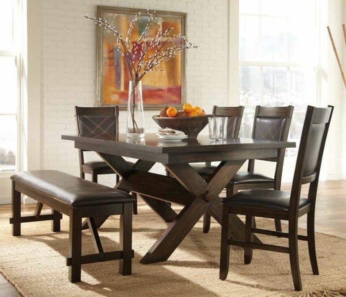 80 id es pour bien choisir la table manger design - Chaises de cuisine et de salle a manger ...
