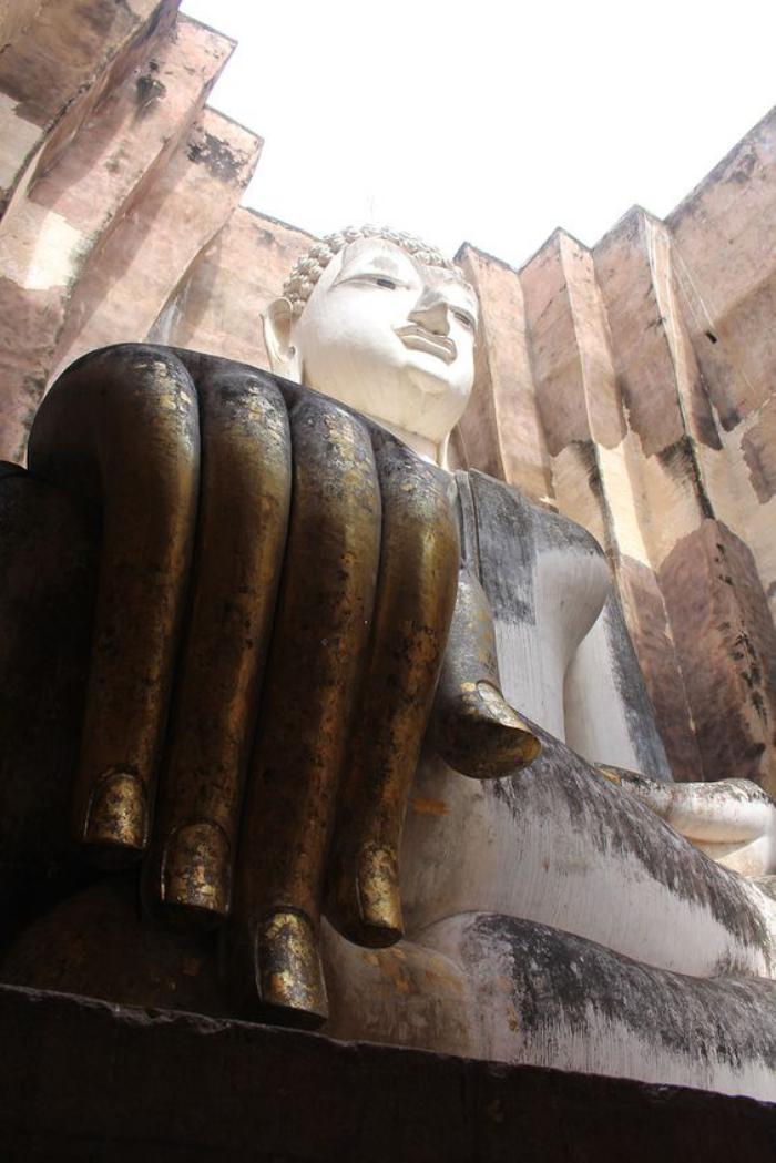 circuit-en-thailande-bouddha-géant-architecture-bouddhiste