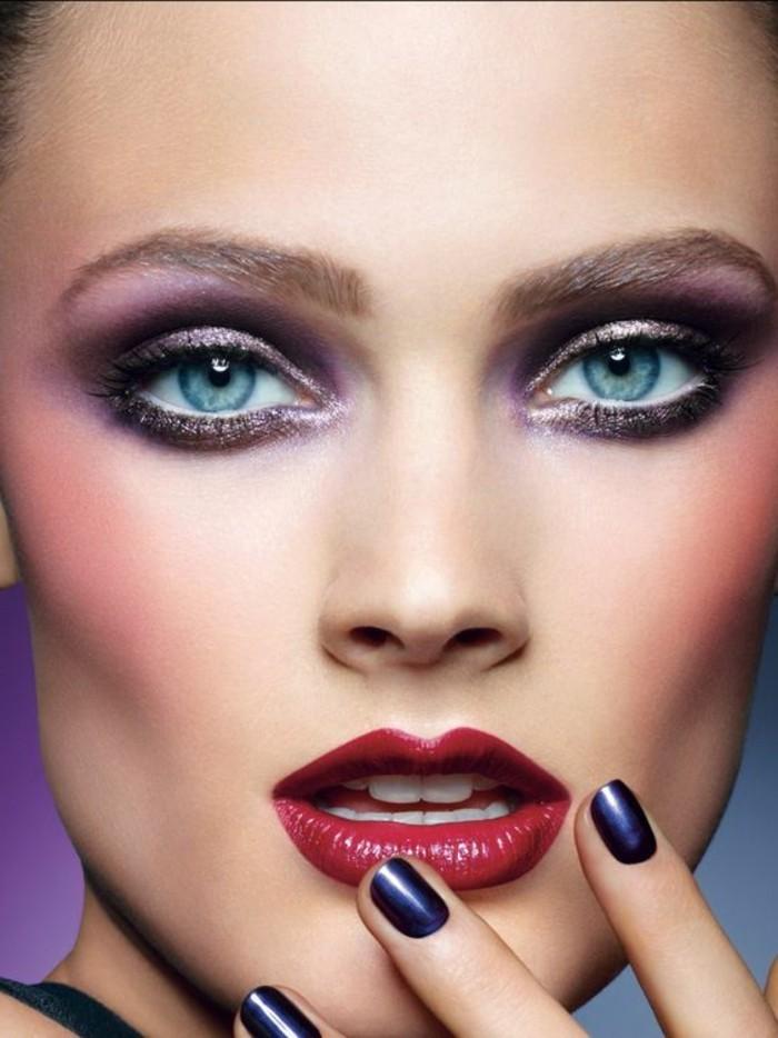 comment-faire-le-meilleur-maquillage-pour-vos-yeux-bleus-agrandir-les-yeux