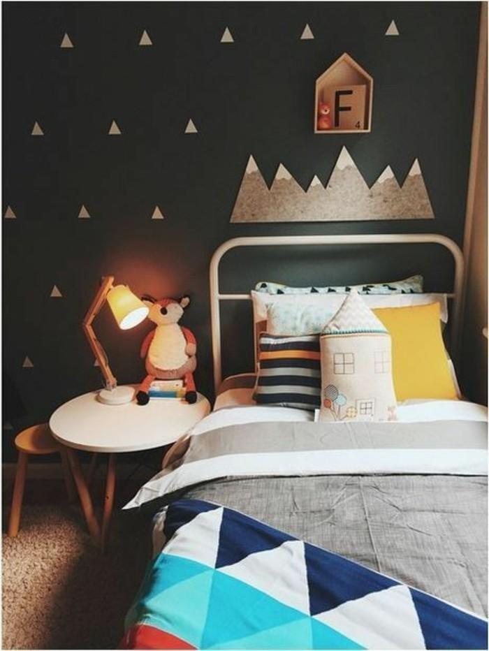 80 astuces pour bien marier les couleurs dans une chambre d enfant - Comment choisir couleur peinture ...