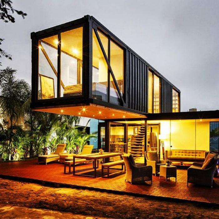 construire-sa-maison-container-de-deux-étages