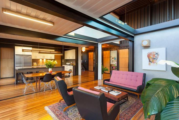 construire-sa-maison-container-intérieur-contemporain-esprit-industriel