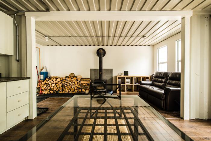 Maison container de luxe for Construire sa maison avec des containers
