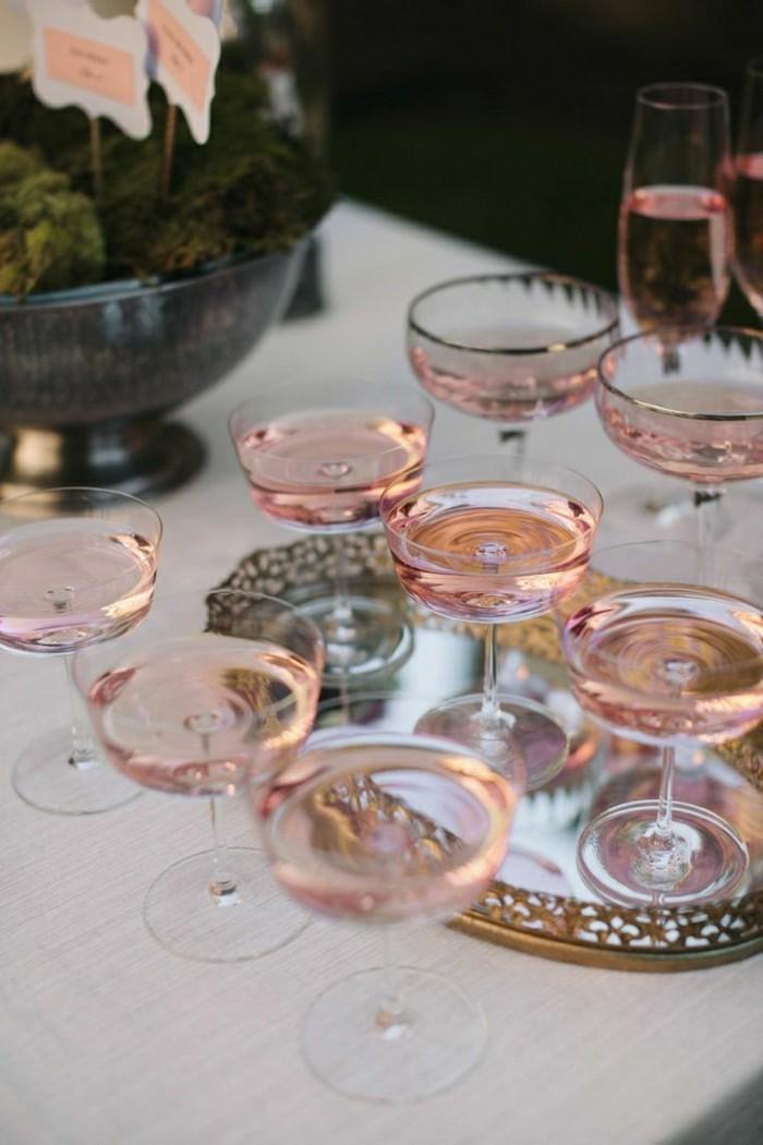 contenance-flute-champagne-flûtes-à-champagne-coupe-cristal-en-rose-jolie