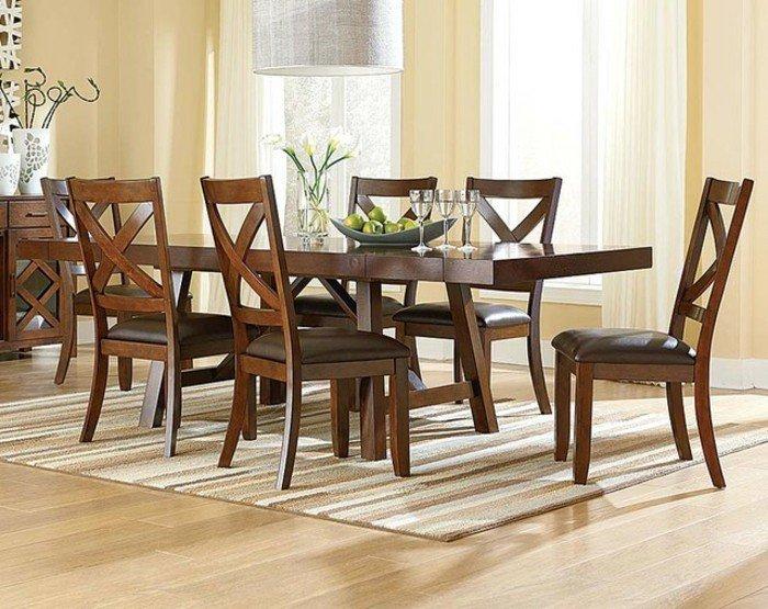 cool-idée-déco-salle-à-manger-table-et-chaises-originales-cuisine-salle-stylee