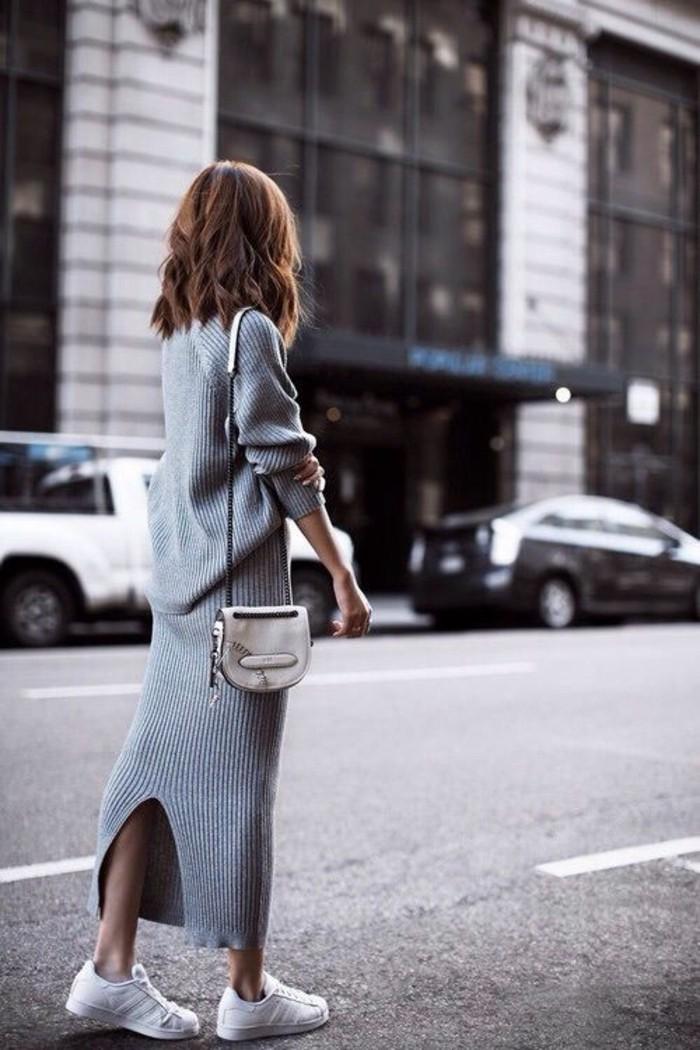cool-idée-quoi-porter-jupe-longue-noire-new-yorkais