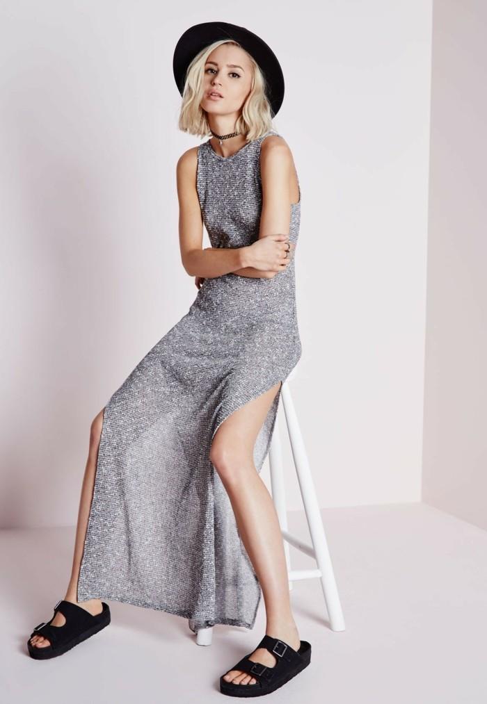 cool-idée-quoi-porter-jupe-longue-noire-une-robe-longue
