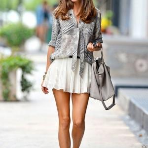 La jupe patineuse - 80 idées comment la porter