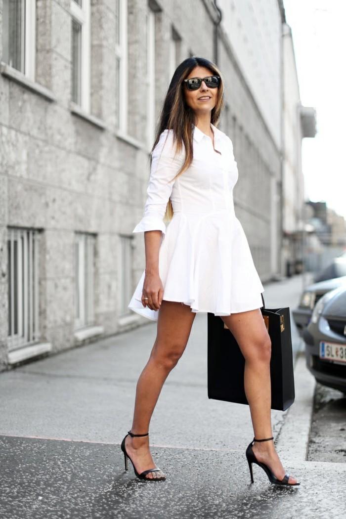 cool-tenue-chemise-blanche-ralph-lauren-chemisier-blanc-femme-elle