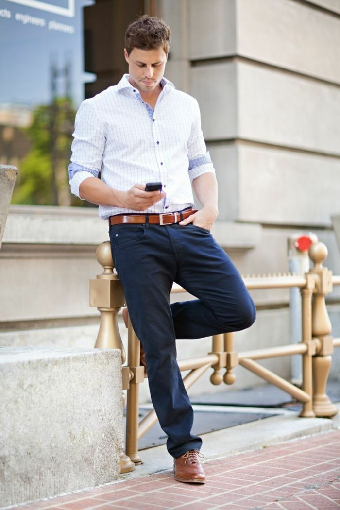 cool-tenue-chemise-blanche-ralph-lauren-chemisier-blanc-femme