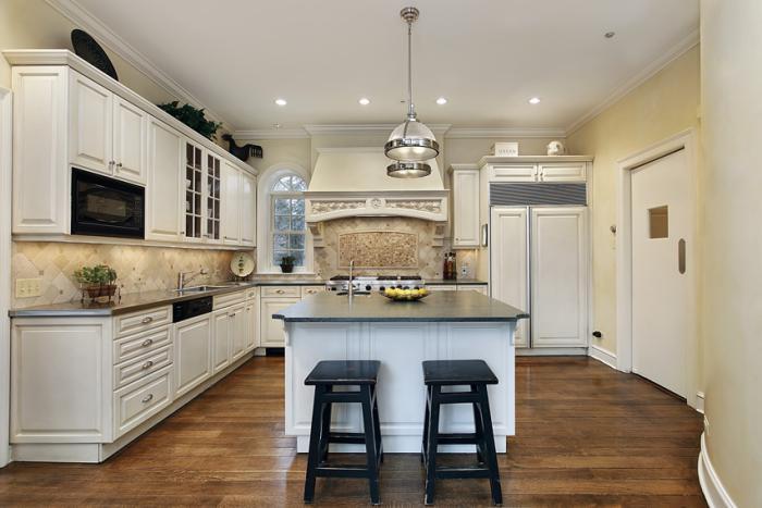 La cuisine avec ilot cuisine bien structur e et for Amenagement cuisine ilot central
