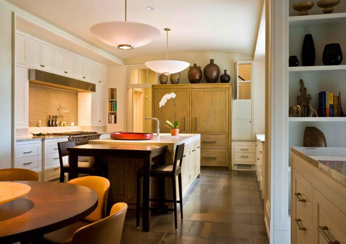 La cuisine avec ilot cuisine bien structur e et fonctionnelle - Comment equiper une petite cuisine ...