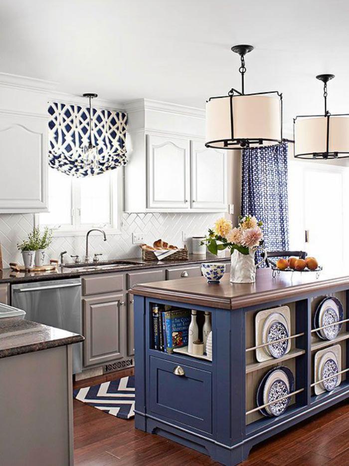 La cuisine avec ilot cuisine bien structur e et for Petite cuisine ouverte avec ilot