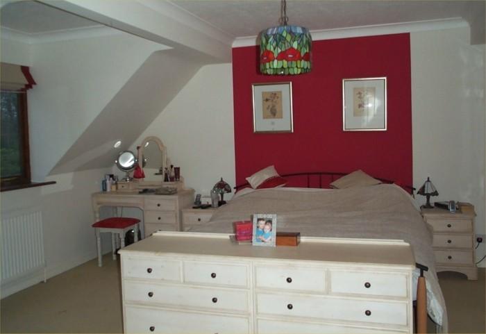 décoration-chambre-adulte-chambre-rouge-et-blanc-deco-chambre-adulte