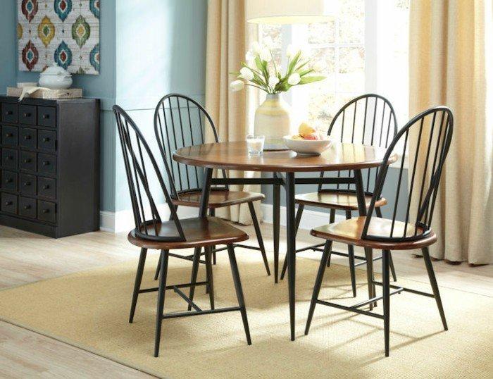décoration-table-ceramique-table-avec-rallonge-cool-idée-table-idee-amenagement