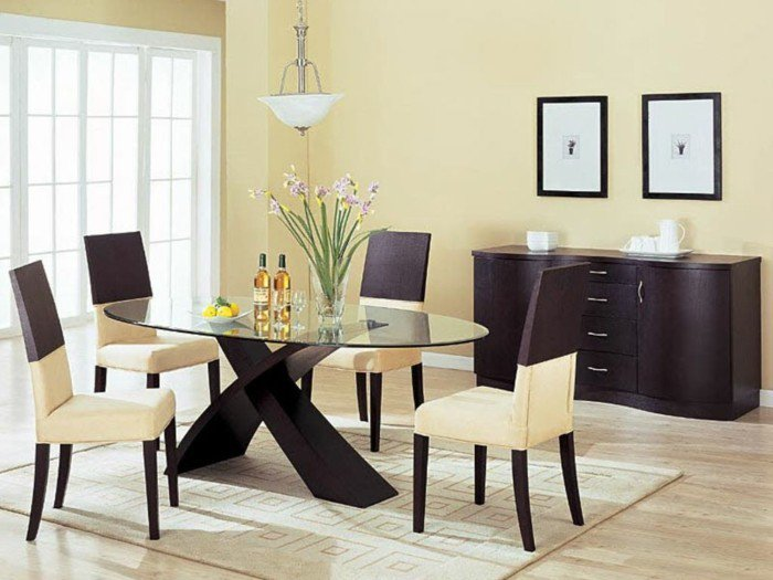 table de salle a manger design avec rallonge valdiz. Black Bedroom Furniture Sets. Home Design Ideas