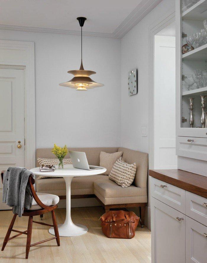 deco-petite-table-ronde-verre-table-à-manger-extensible-inspiration-pièce-cuisine