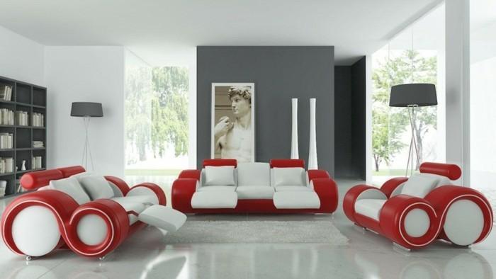 decoration-chambre-adulte-chambre-rouge-et-blanc-deco-chambre-adulte