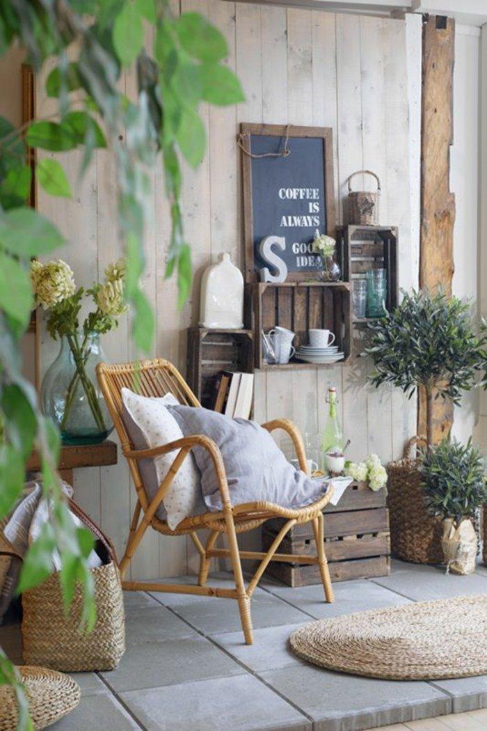 decoration-de-balcon-formidable-idée-fauteuil-en-rotin-meubles-rotin-salle-se-séjour-ou-balcon