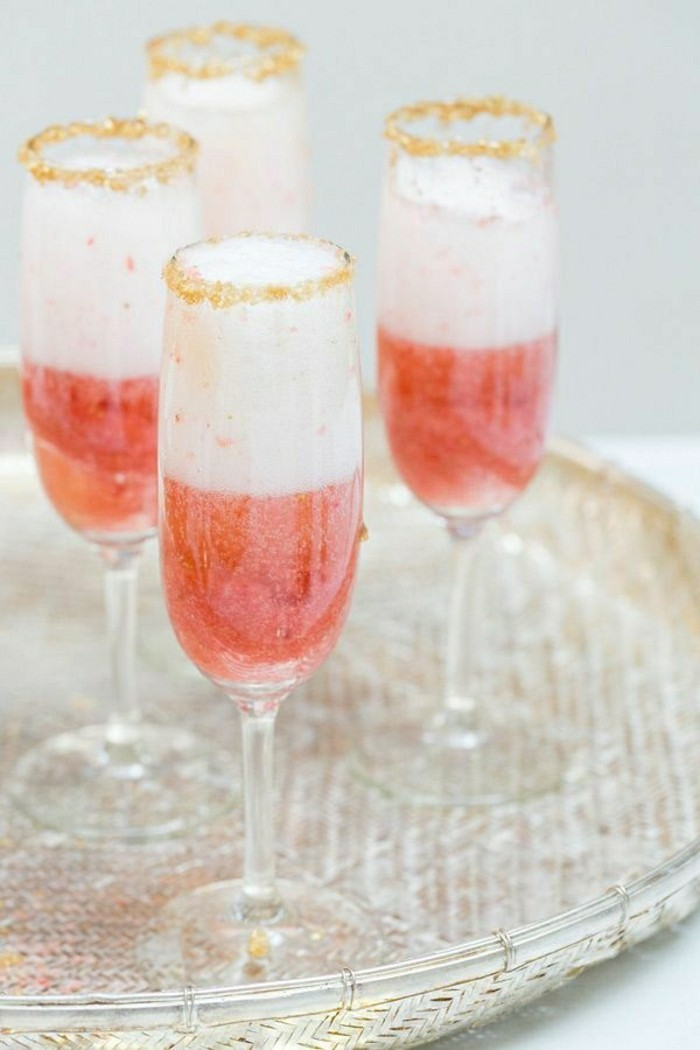 decoration-verres-a-champagne-coupe-à-champagne-diy-rose