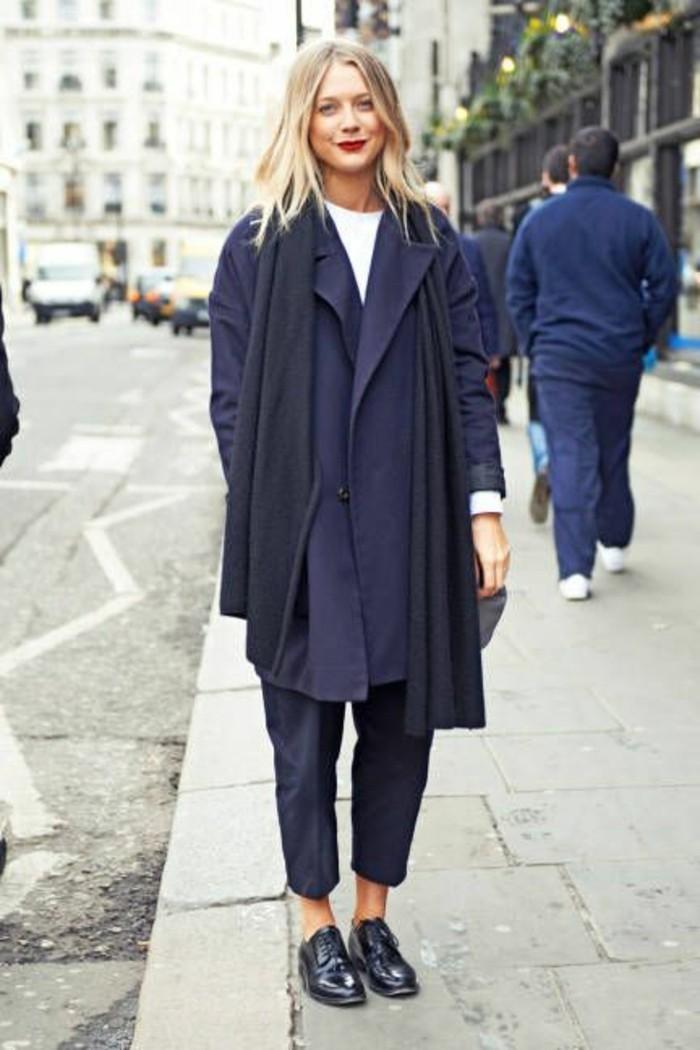 derbies-femme-cuir-bleu-foncé-tendances-de-la-mode-femme-moderne