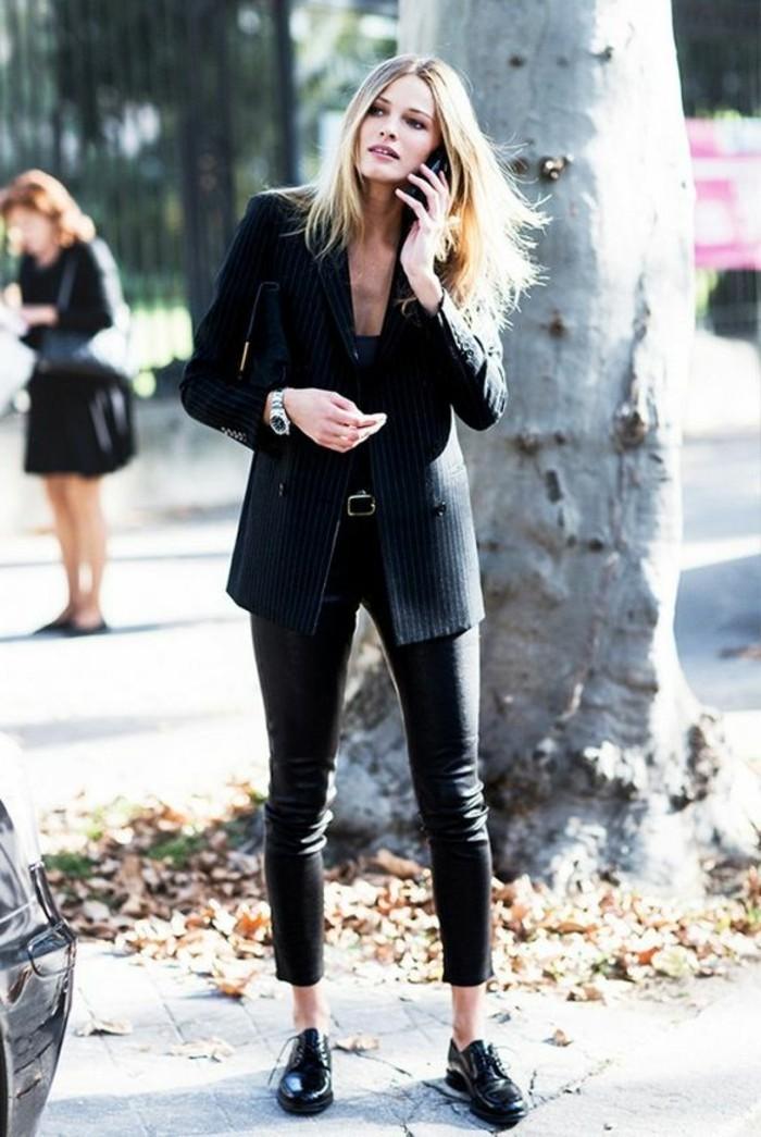 derby-chaussures-femme-chaussures-femme-noires-en-cuir-tendances-2016-mode