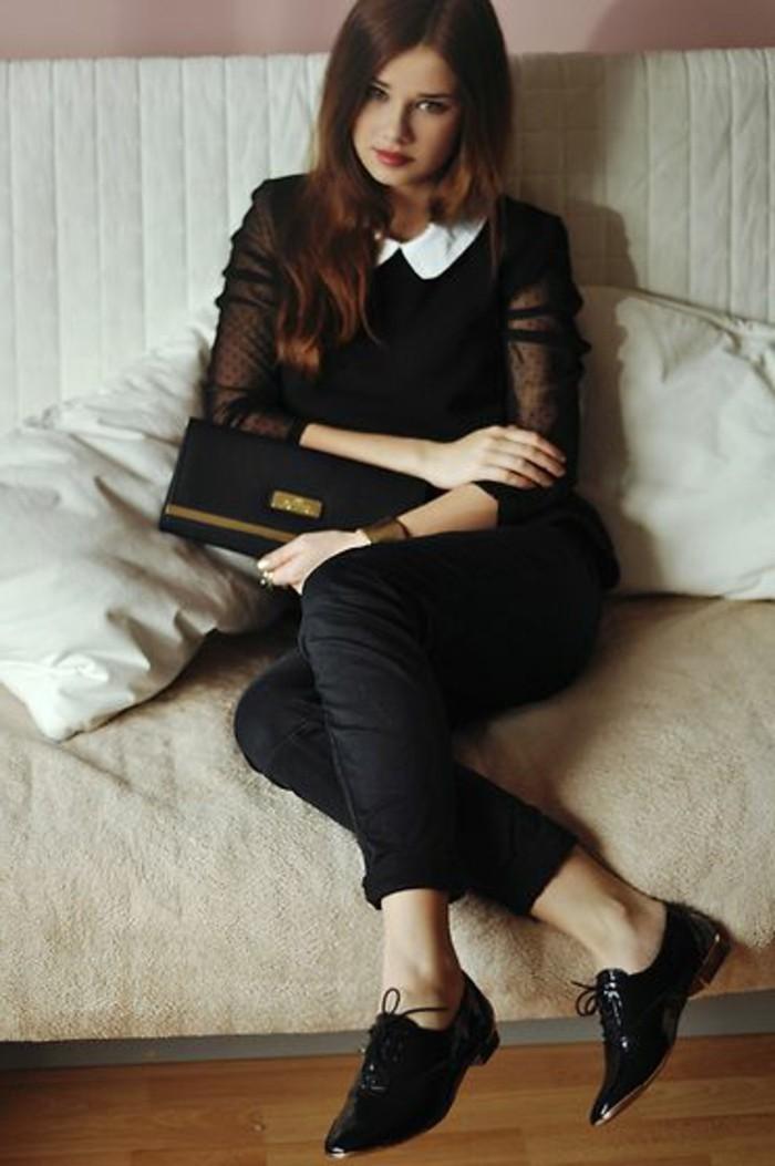derby-chaussures-femme-chaussures-lacet-noires-femme-modernes