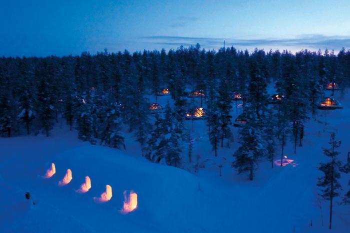 dormir-en-igloo-Finlande-village-igloos-dans-la-neige