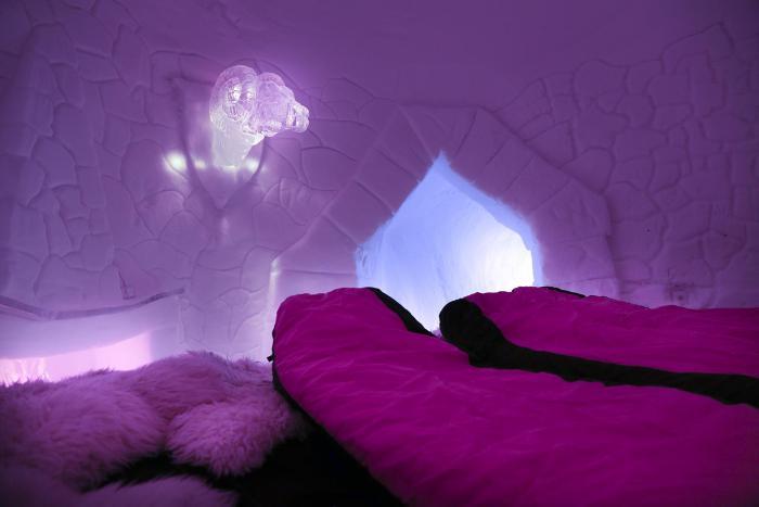 Si vous voulez des vacances insolites on vous propose de dormir en igloo - Dormir dans un igloo ...