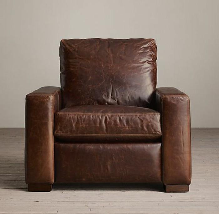 fauteuil-de-relaxation-en-cuir-marron-nos-idées-pour-votre-fauteuil-relaxant-cuir