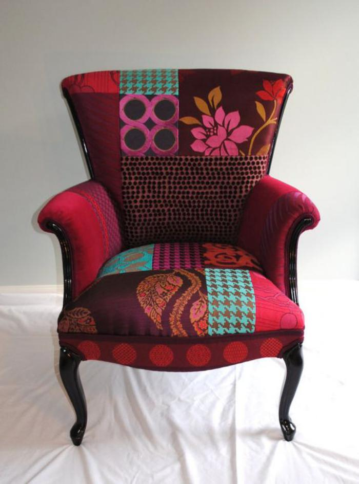 fauteuil-patchwork-chaise-déco-patchwork