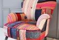 Le fauteuil patchwork – une pièce boho chic pour faire votre intérieur vibrer