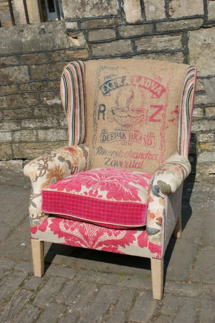fauteuil-patchwork-fauteuil-revêtu-en-textiles-multiples