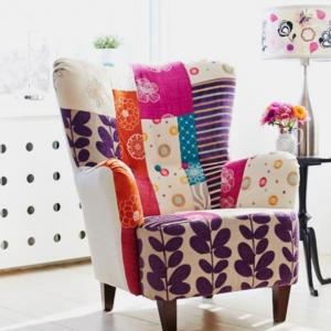 Le fauteuil patchwork - une pièce boho chic pour faire votre intérieur vibrer