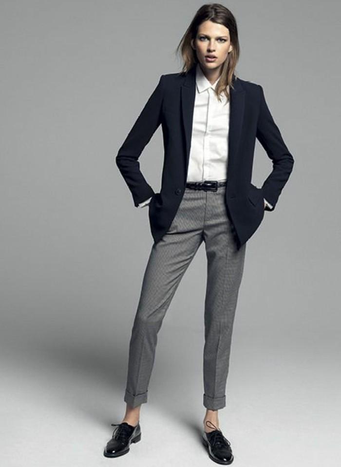 femme-élégante-pantalon-gris-chemise-blanc-look-élégant-chic-femme-tendances-de-la-mode