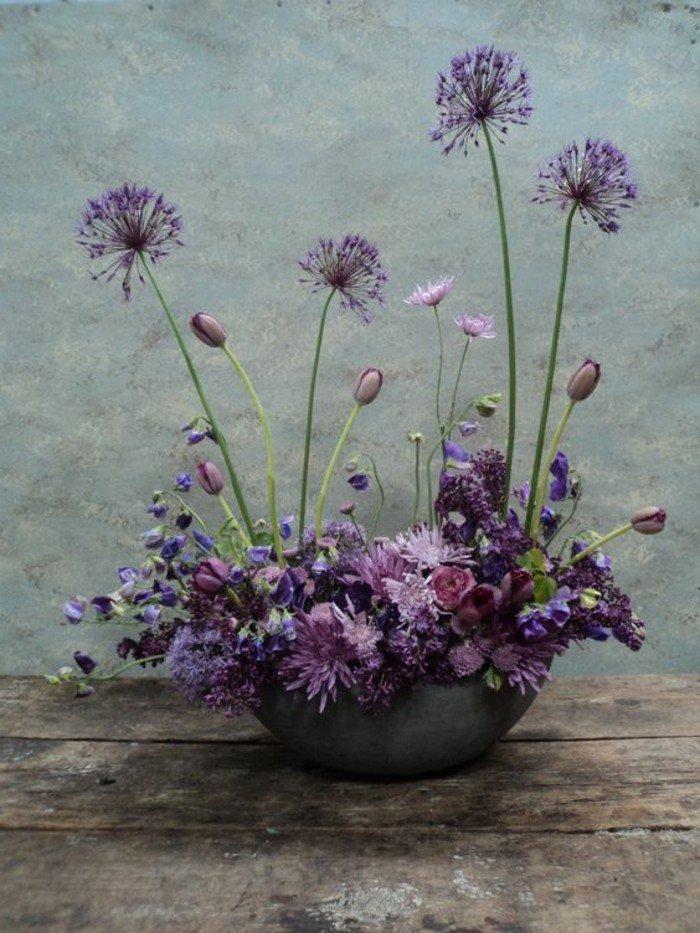 fleurs-blanches-pensée-fleur-flore-alpes-bouquet-de-la-nature-belle-vase