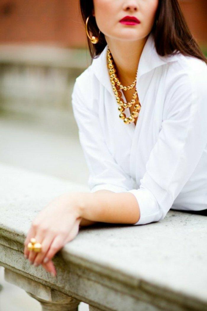 formidable-chemise-blanche-enfant-chemise-en-jean-femme-tenue-de-jour-idee