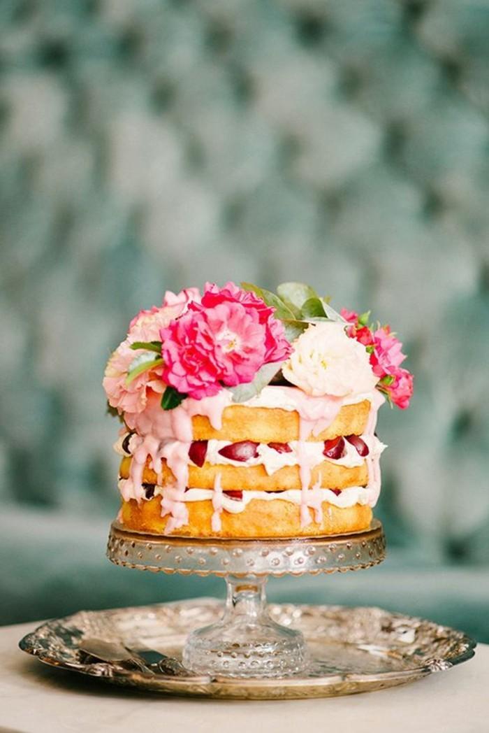 gâteau-d-anniversaire-gateau-d-anniversaire-personnalisé-à-faire-fleurs-roses