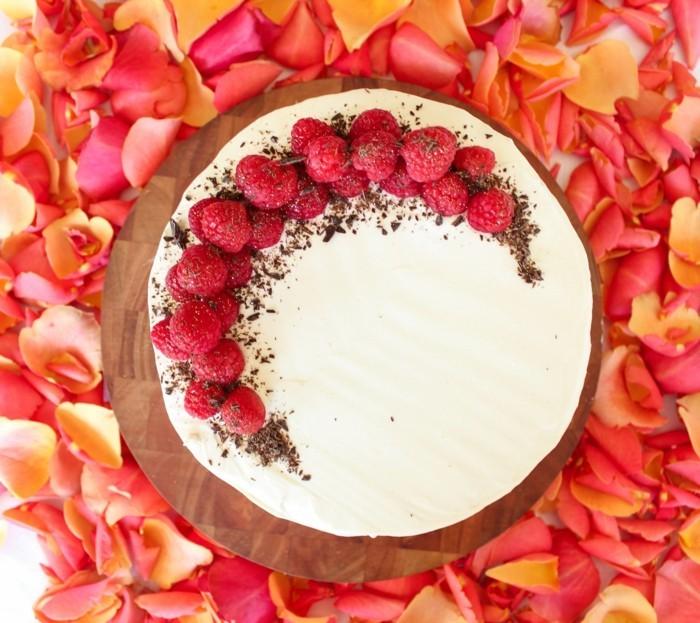 gâteau-d-anniversaire-gateau-d-anniversaire-personnalisé-à-faire-framboises