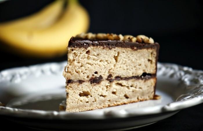 gateau-a-la-banane-gateau-aux-pepites-de-chocolat-gâteau-à-la-banane
