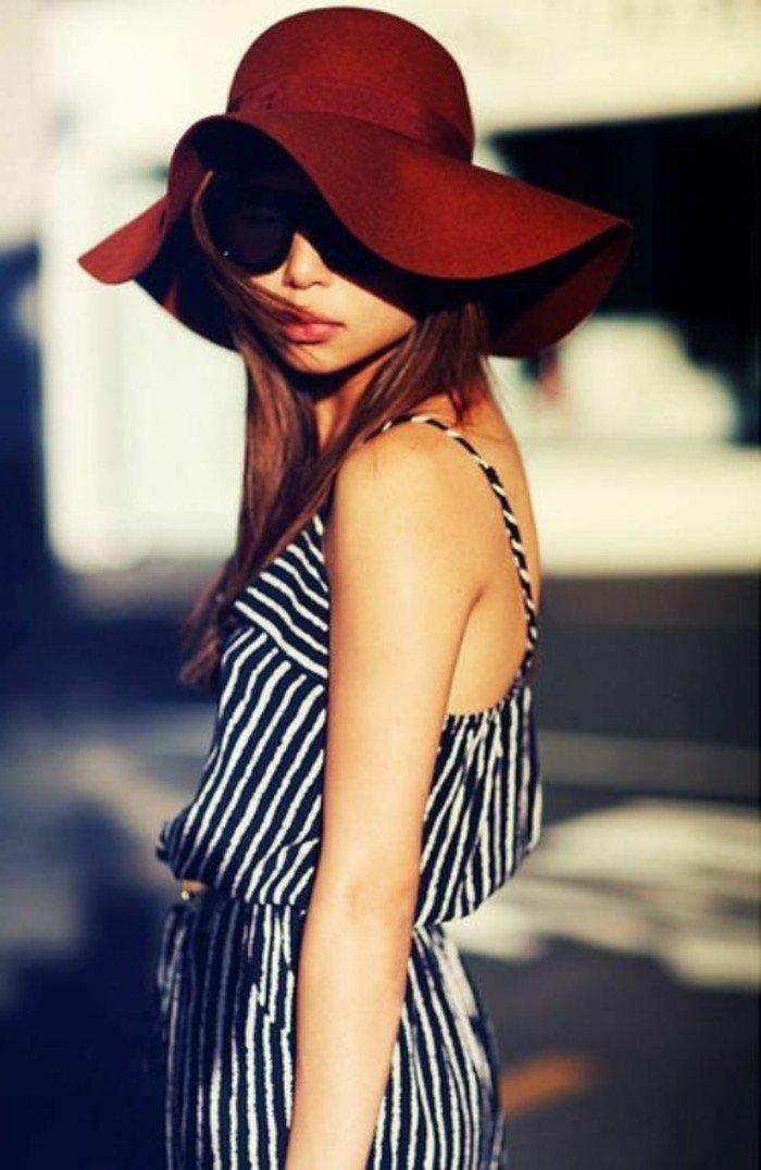 grand-chapeau-femme-les-accessoires-à-porter-cool-idée-fashion