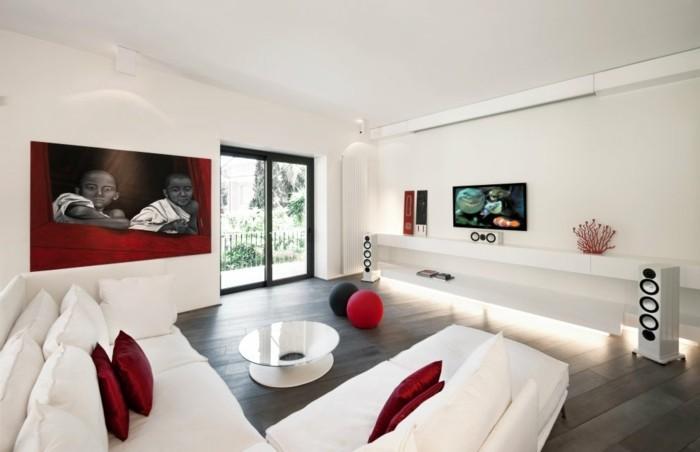 idée-déco-chambre-adulte-chambre-rouge-et-blanc-deco-chambre-adulte