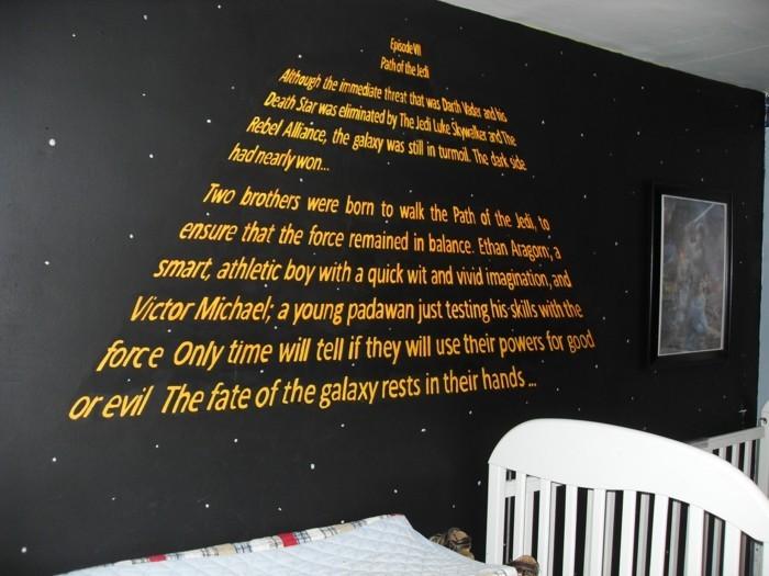 La Chambre Star Wars Faire Une D 233 Coration 224 L Aide De
