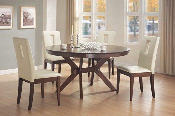 idée-table-à-manger-design-salle-à-manger-bien-décorée-ambiance-la-table-ronde