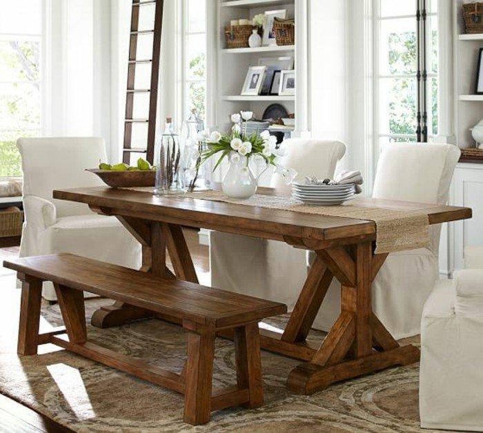 80 id es pour bien choisir la table manger design for Table de cuisine etroite