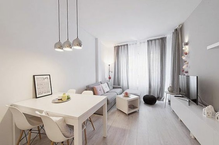 83 photos comment am nager un petit salon - Deco beige et gris ...