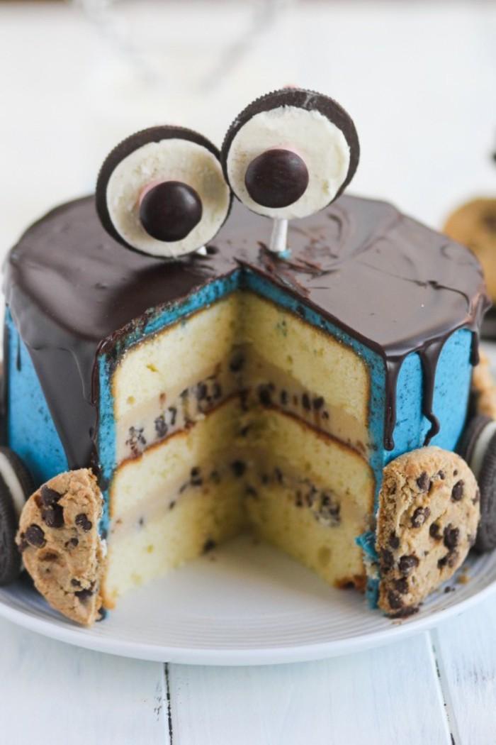 image-de-gâteau-d-anniversaire-gateau-pour-enfant-magnifique-gateau-cookie-monstre