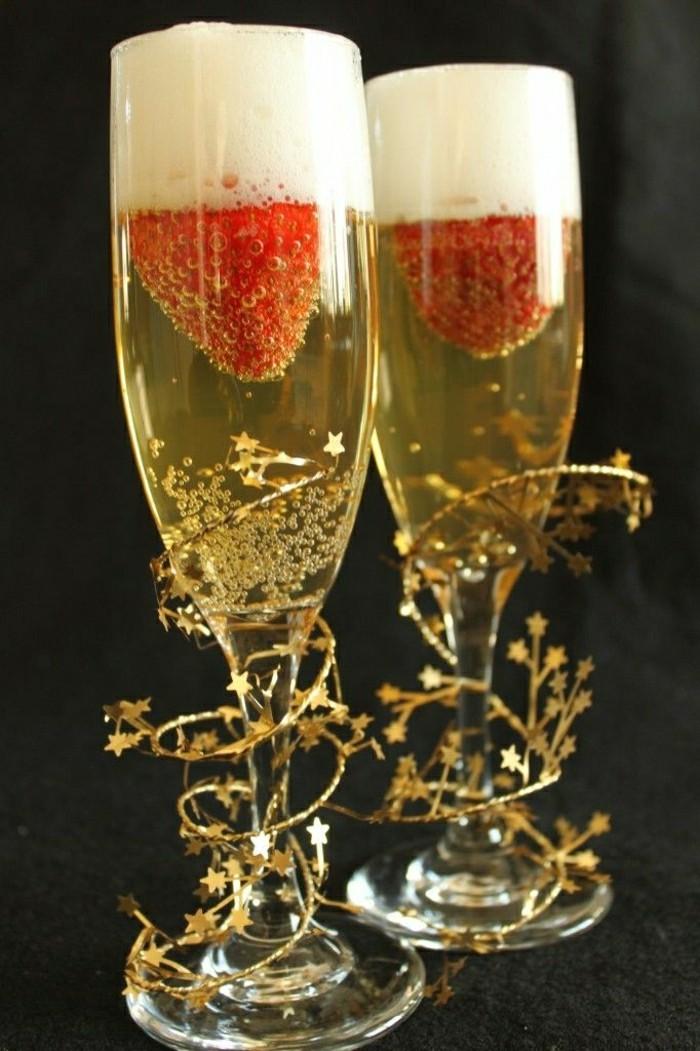 inspiration-agreable-flute-a-champagne-verre-à-champagne-framboises-dorée-tasse